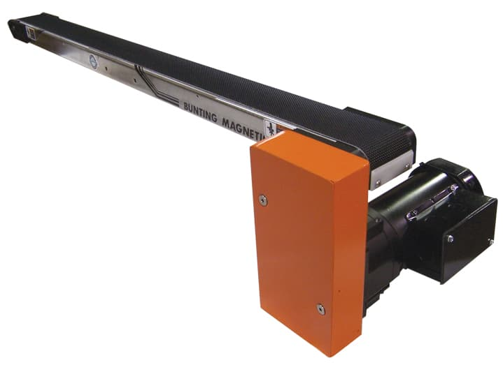 Standard Low-Profile Magnetic Conveyors-Magnetic Separation-Bunting